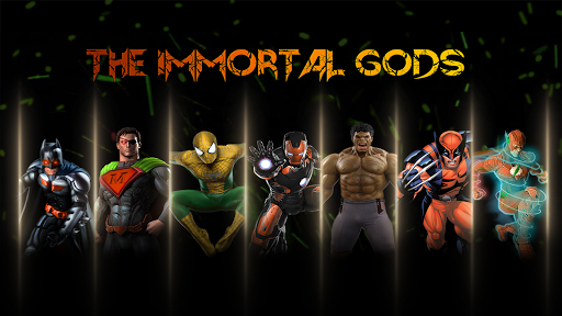 Superhero Fighting Immortal Gods Ring Arena Battle 1.1 screenshots 6
