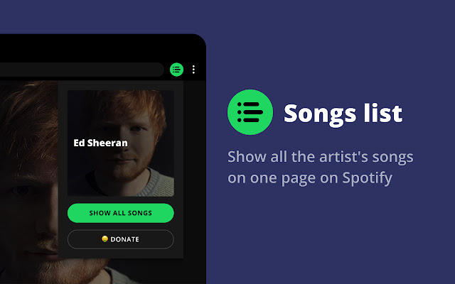 Spotify artist's all songs