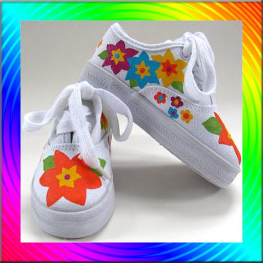Shoes Art Idea