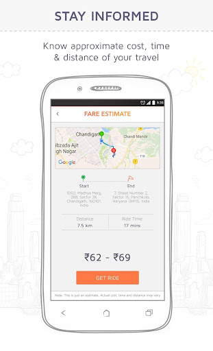 Jugnoo - Taxi Booking App & Software 4.1.9 screenshots 2