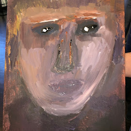 Can you see me by Narendra Sharma - Painting All Painting