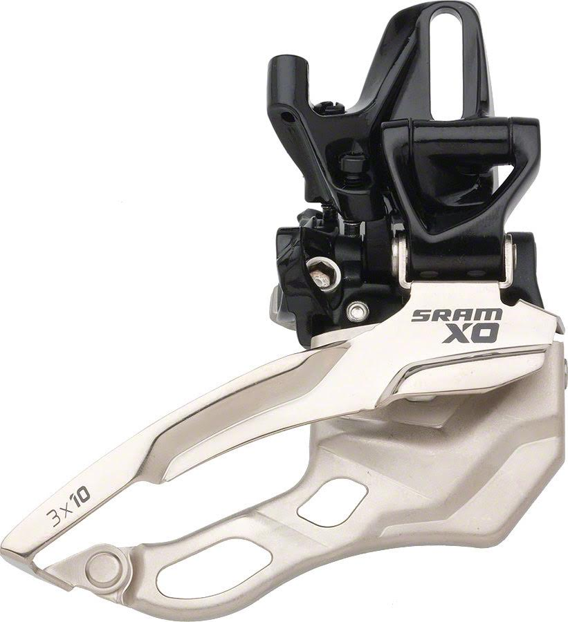 SRAM X0 S3 Direct Mount 3x10 Front Derailleur Bottom Pull 44T