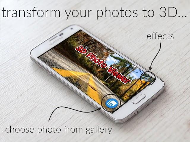 android 3D Bilder Album Screenshot 0