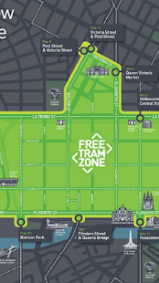 Melbourne Free Tram Zone Map Apps on Google Play