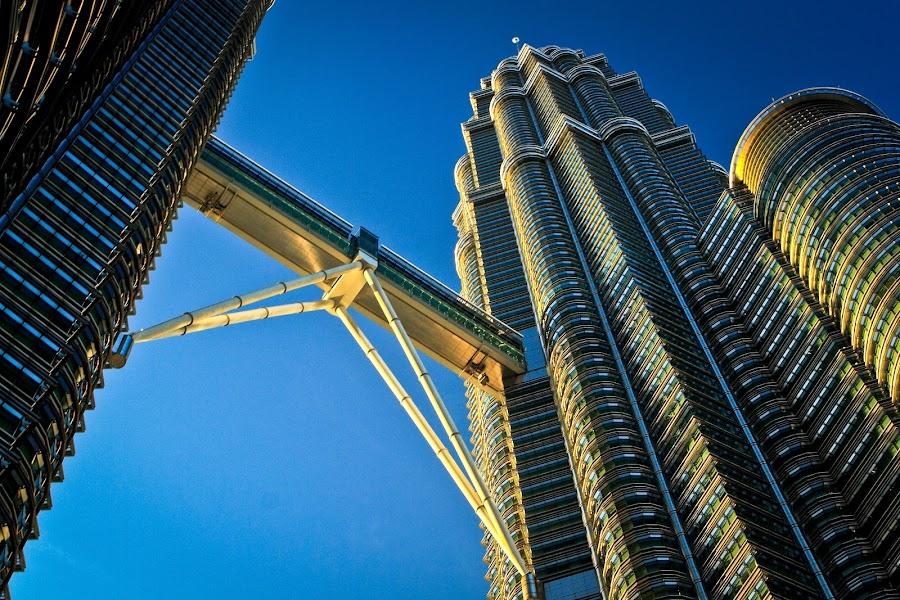 Entrapment Towers by Agung Krisprimandoyo - Landscapes Travel ( kuala lumpur )