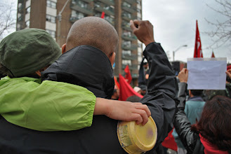 Photo: Raise a fist in the air if you believe in justice for workers in this country!