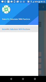 Scientific Calculator With Fractions - náhled