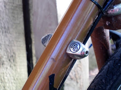 Problem Solvers Downtube Shifter Boss Covers Silver alternate image 2