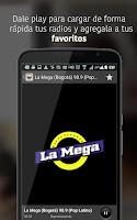 Screenshot of Radios Colombia