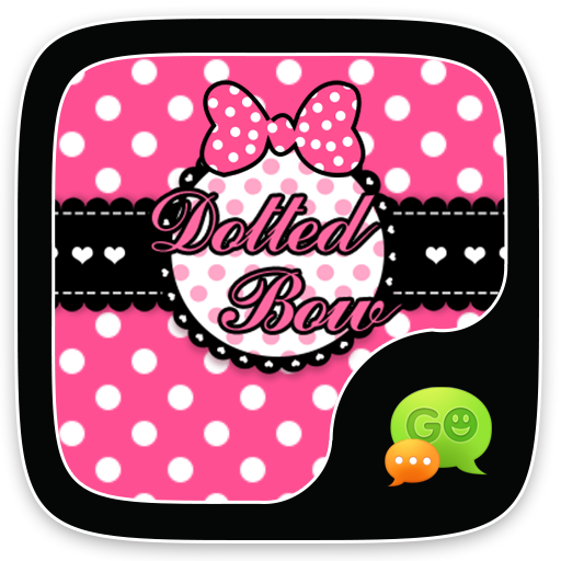 GO SMS PRO DOTTED BOW THEME - Apps on Google Play
