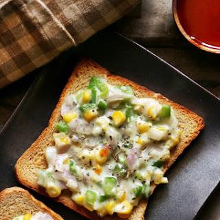 cheese toast recipe with corn   Corn cheese toast