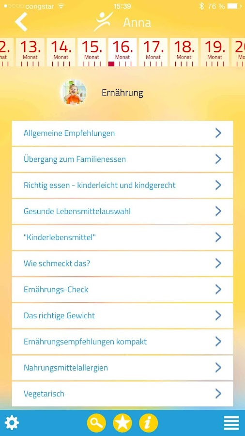 Kind & Essen- screenshot