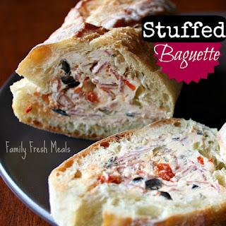Stuffed Baguette.