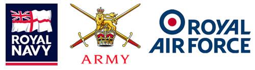 Navy Army RAF