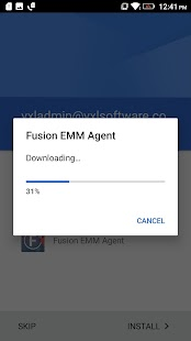Fusion EMM Agent - náhled