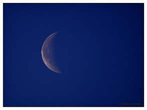 Photo: Abnehmender Tagmond (Luna) 16.Februar 2012 Original - Zeit: 07:26:55