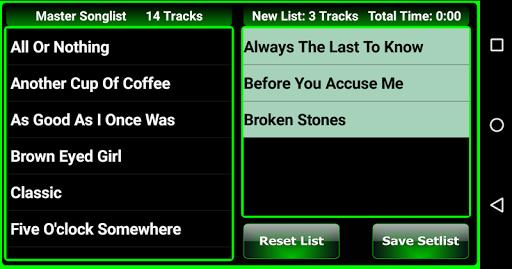 Songer Pro Appar för Android screenshot
