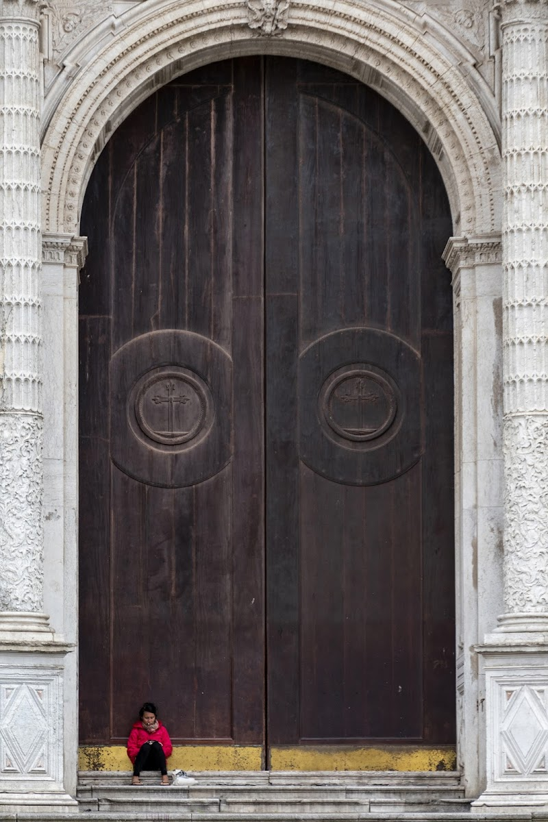Dettaglio di una cattedrale di Nefti-Monica