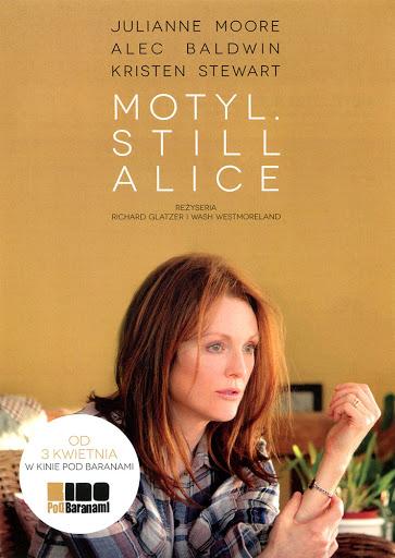 Przód ulotki filmu 'Motyl. Still Alice'