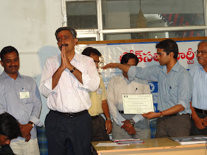Photo: Issuing Certificate of Election to the winning candidate in the State President Election