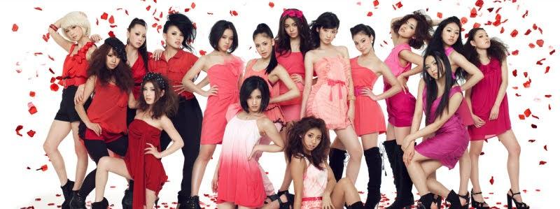 E-Girls Show original! - FLOWER com quatro integrantes ainda.