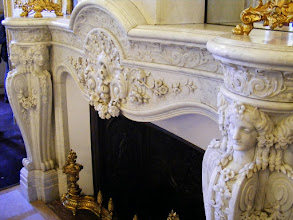 Photo: Some nice fireplace detail here.