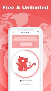 VPN Kitten: Free Unlimited VPN Proxy & Secure WiFi for PC-Windows 7,8,10 and Mac apk screenshot 1
