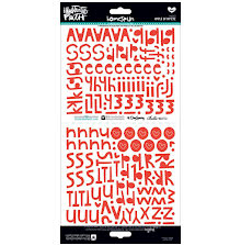 BellaBlvd Illustrated Faith Basics Stickers 6X12 194/Pkg - Apple Of My EyeUTGÅEN