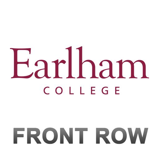 Earlham Athletics Front Row