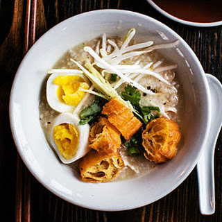 Chicken Congee (Rice Porridge) Recipe