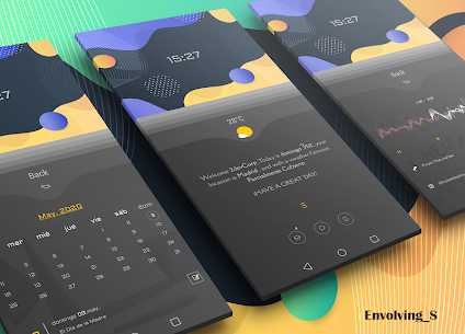 Envolving S for klwp 4 Latest APK Free Download 1