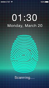[Download Fingerprint Applock for PC] Screenshot 1