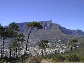 Photo: Krügeristä siirryimme Kapkaupunkiin - tässä Pöytävuori