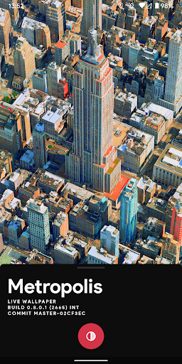 Metropolis 3D City Live Wallpaper [FREE] 🏙️ screenshot 3