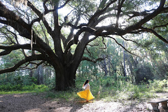 Photo: Dancing with the trees on Earth Day!
