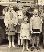 Photo: Dina Dekker, Anna Zwiers, Harm Hadderingh en Bram Hadderingh, voor Aaltje Nijhof en Bé Hadderingh