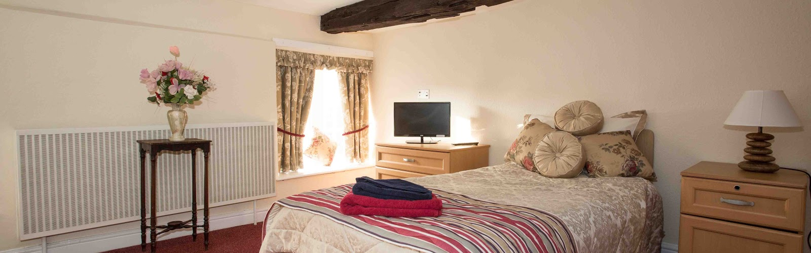 Abundant Room Space & Fresh Bedding In Residential Care, Whiston Hall, Rotherham