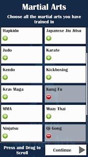 World Martial Arts Leaderboard- screenshot thumbnail