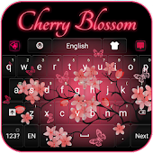 Cherry Blossom Keyboard