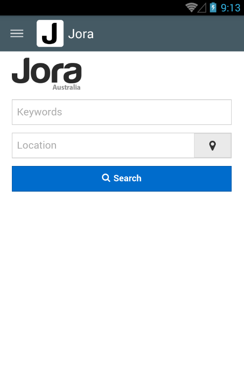 how to search jora for removed jobs
