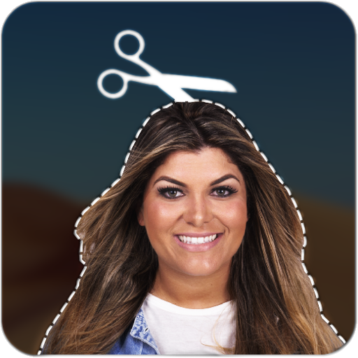 Cut and Paste photos Icon