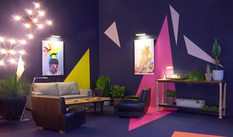 El lounge de Affligem, en Millesime Madrid, diseñado por Carmen Basarona