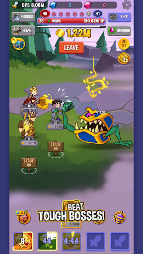 Code Triche Idle Quest Heroes APK MOD (Astuce) screenshots 2