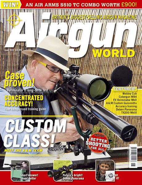 Photo: Get 13 issues of Airgun World magazine for just £25.35! Saving you a whopping 50% on the shop price… go to www.subscriptionsave.co.uk/PAW0812A or call us on 0844 8484238 to subscribe today.