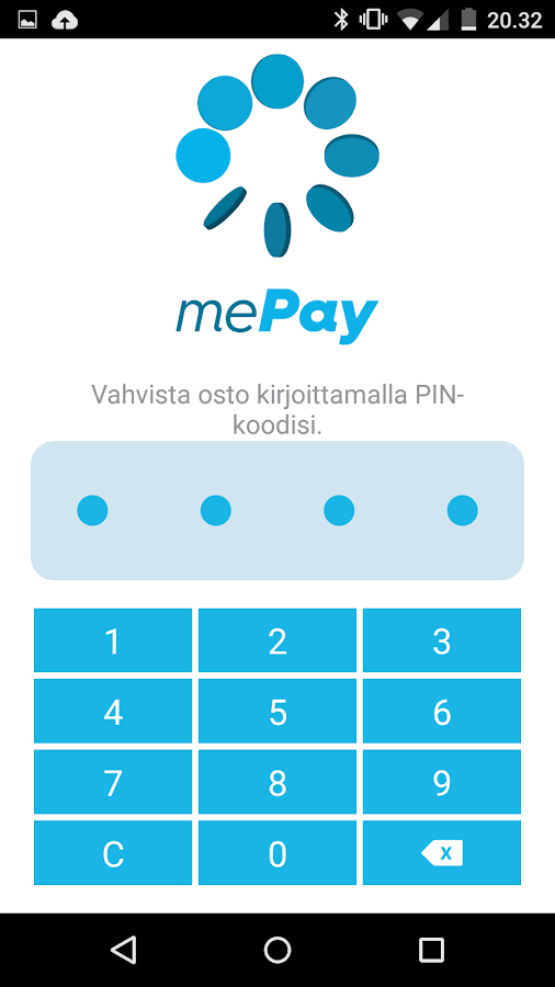 mePay- screenshot