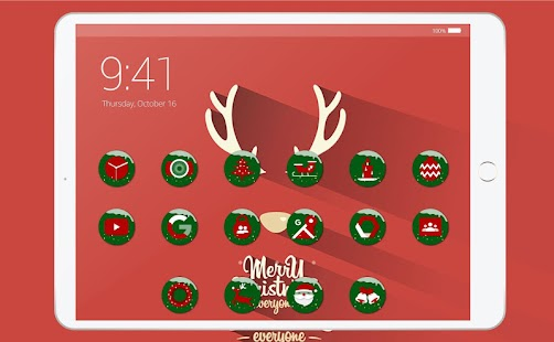 Merry Christmas Icon Pack Screenshot