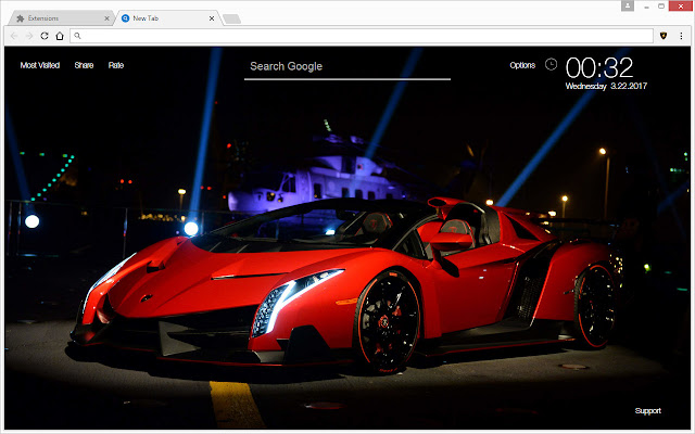 Lambo themes & new tab HD wallpapers of Lamborghini Aventador, Veneno ...