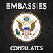 USA embassies consulate - Androidアプリ