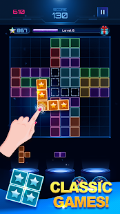 Download Glow Block Puzzle: Free Color Jewel Games 2019 For PC Windows and Mac apk screenshot 4