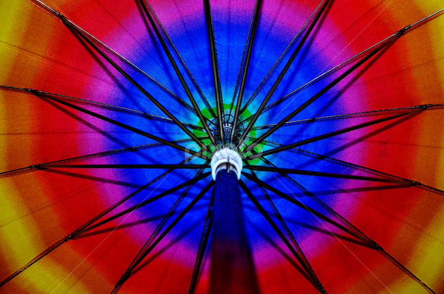 for the rainy days.. by Pete G. Flores - Abstract Patterns ( pwcabstractdiamonds-dq, colorful, diamonds, umbrella, rounds, circle, shape )